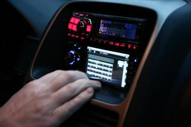 poste radio gps voiture