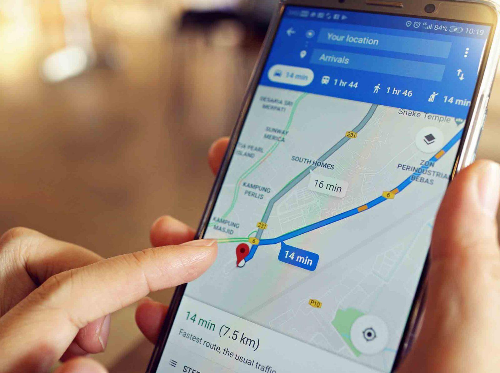 Utiliser Maps de Google hors connexion